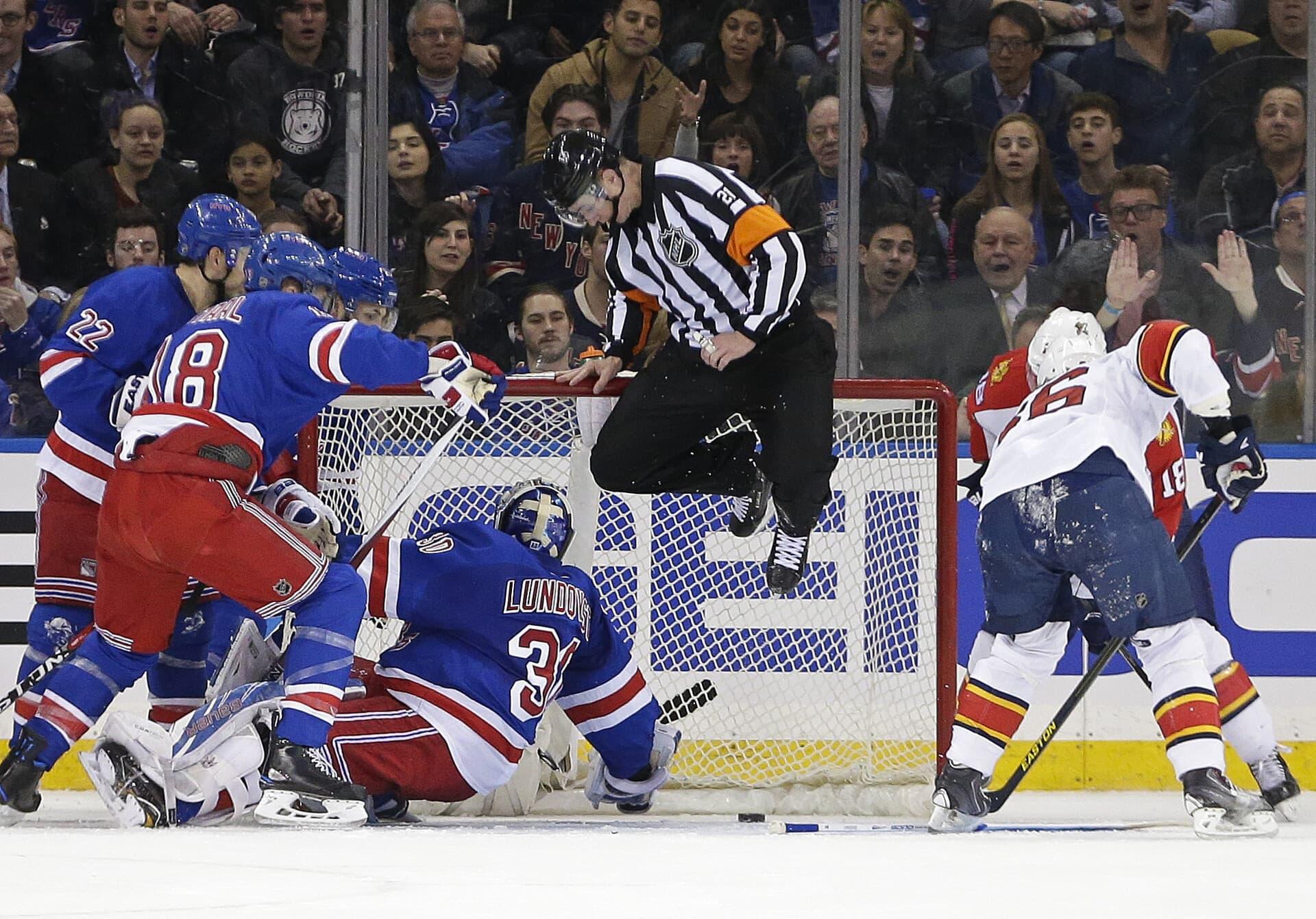 TJ Luxmore, NHL Referee